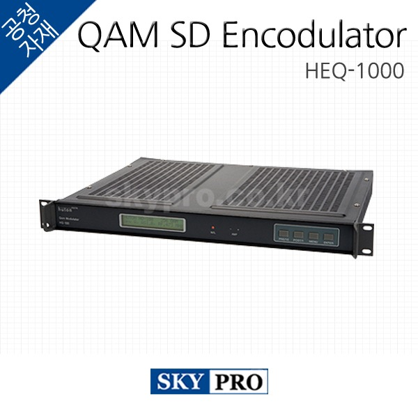 [주문생산] QAM SD Encodulator HEQ-1000